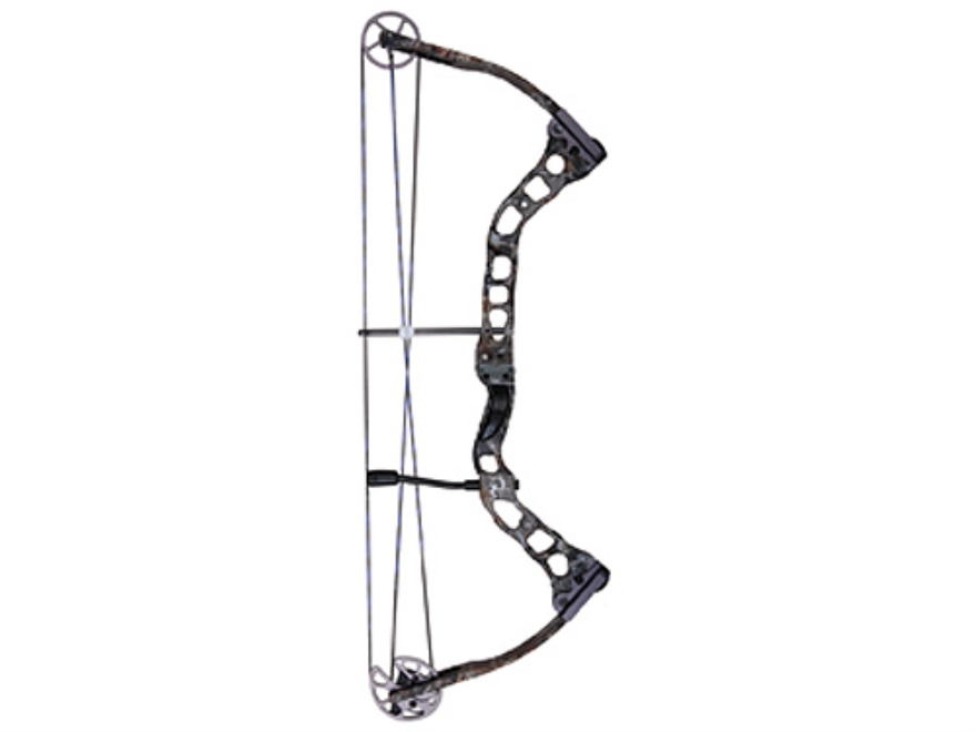 "Quest Torch Compound Bow Left Hand 30-45 lb. 24""-28"" Draw Length Realtree AP HD Camo"