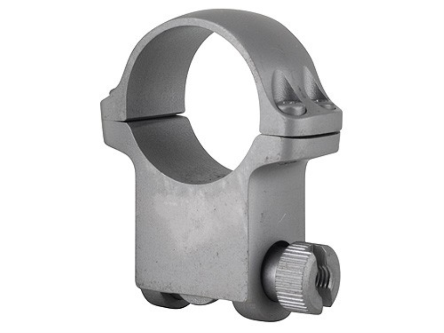 "Ruger 1"" Ring Mount 6KHM Silver Matte Extra-High"