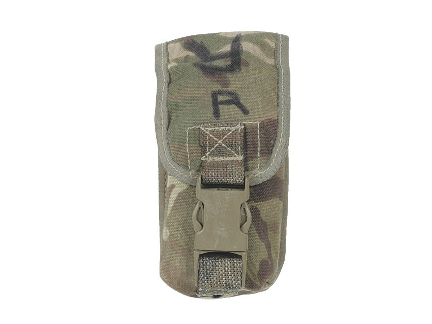 Military Surplus British Osprey MK IV Smoke Grenade Pouch Multi-Terrian Pattern Camo