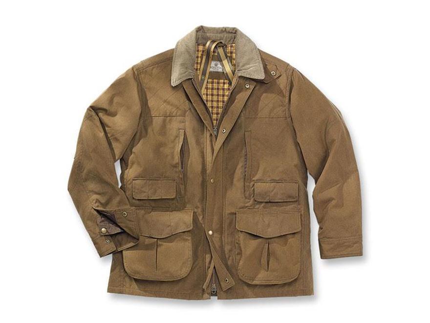 Beretta Men S Field Jacket Waxed Cotton Spice Brown