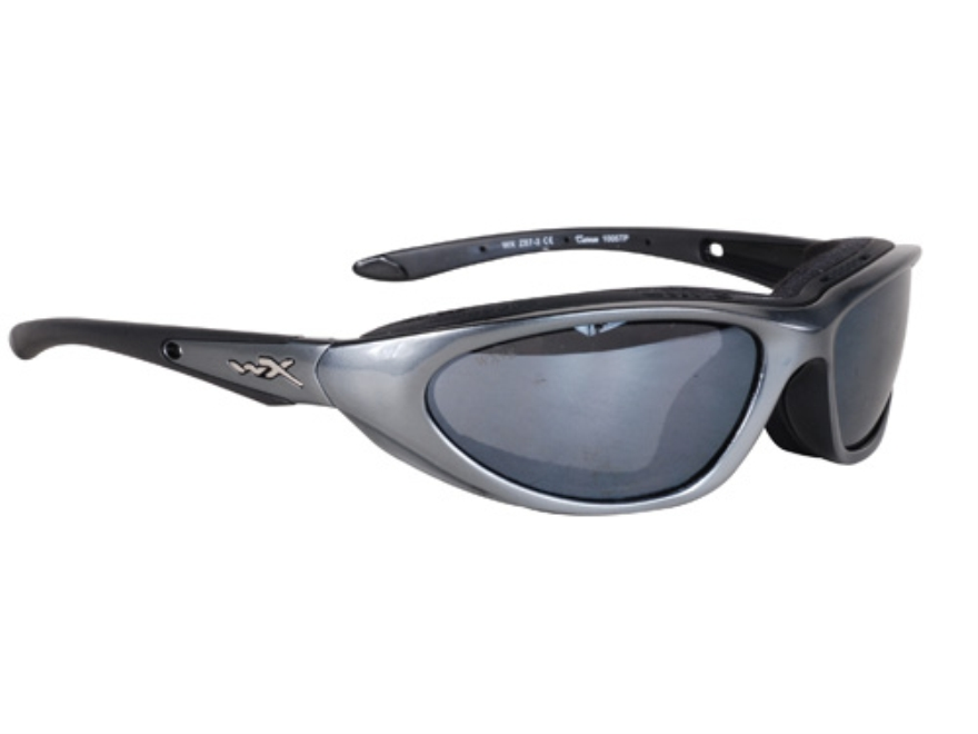 Wiley-X Blink Shooting Safety Glasses Silver Flash Lens