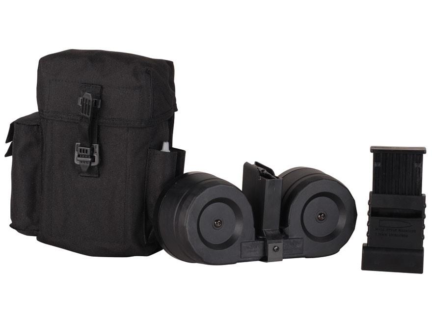 AR-Stoner Magazine System AR-15 223 Remington 100-Round Drum Polymer Black