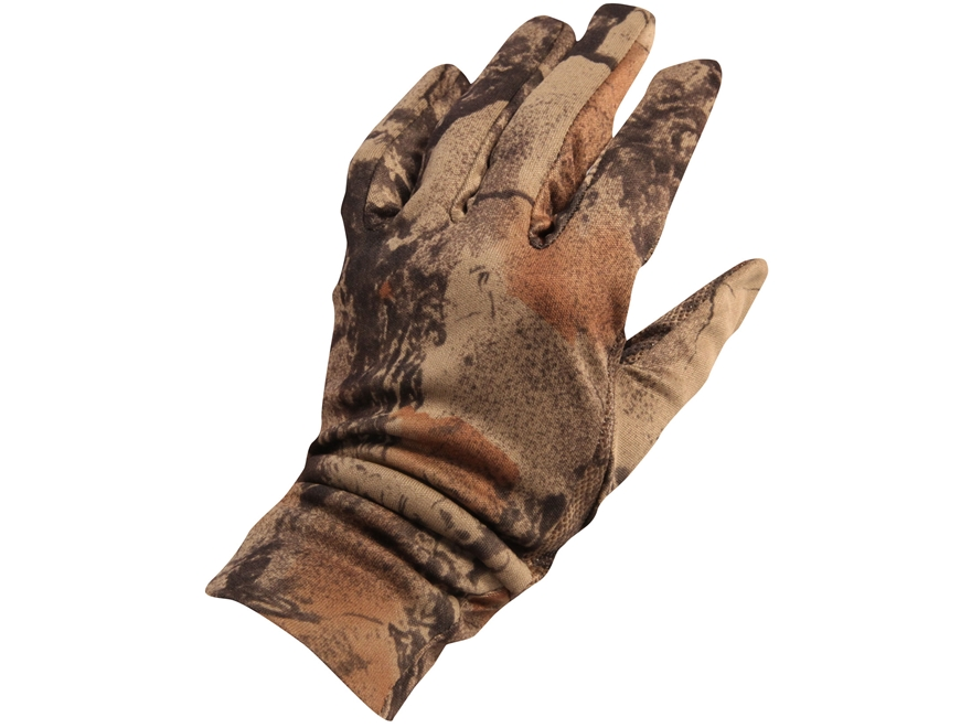 Natural Gear Stretchy Fit Gloves Polyester Natural Gear Natural Camo