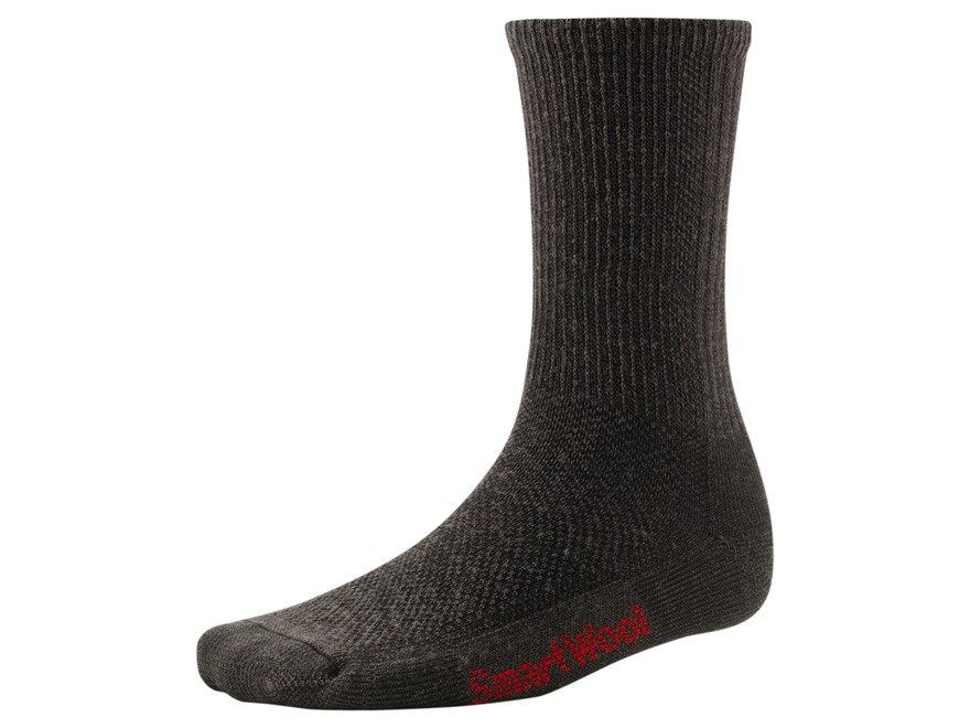Smartwool Hike Ultra Light Crew Socks Wool Blend Chestnut Men's XL (12-14)