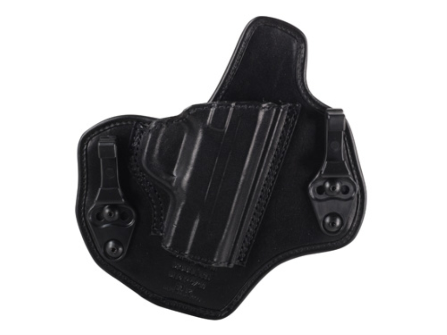 Bianchi Allusion Series 135 Suppression Tuckable Inside the Waistband Holster S&W M&P 9mm, 40 S&W Leather