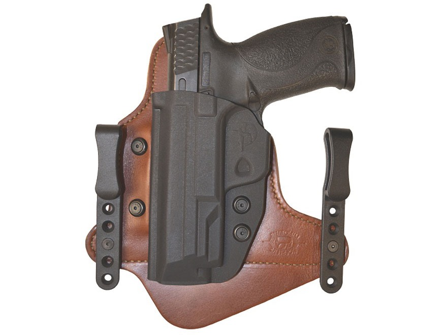 Comp-Tac Minotaur MTAC Neutral Cant Inside the Waistband Holster Springfield XDM Slide ...
