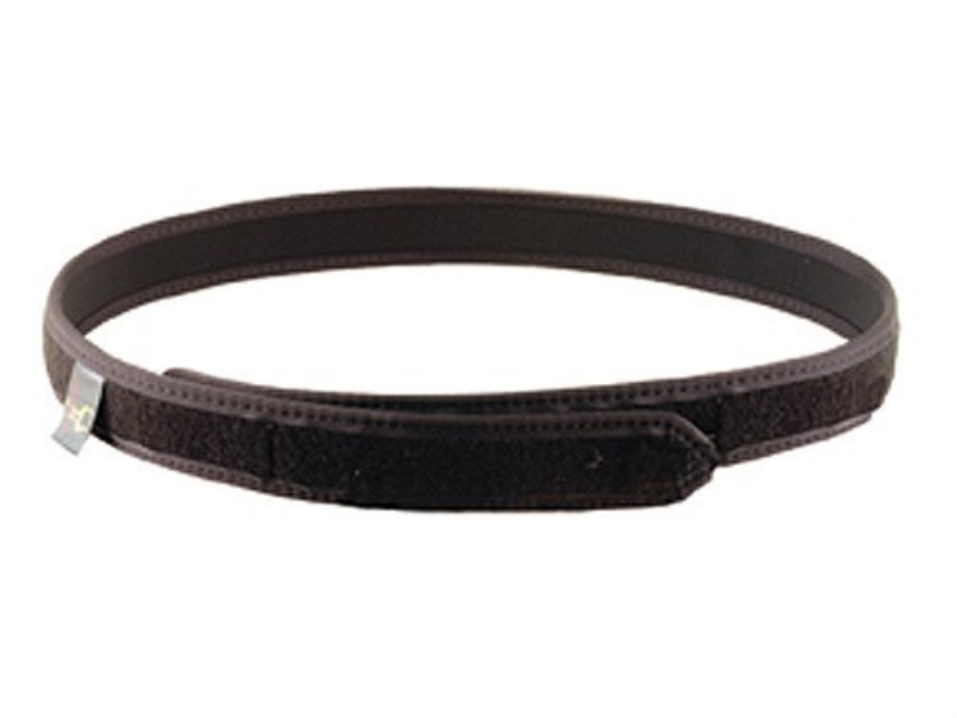 "Safariland 4325 Reversible Belt 1-1/2"" Loop Lining Laminated Leather 32"" to 38"""