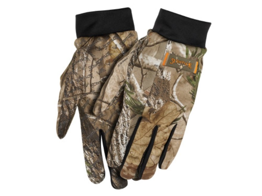 Scent-Lok Shooter's Gloves Polyester Realtree AP Camo XL