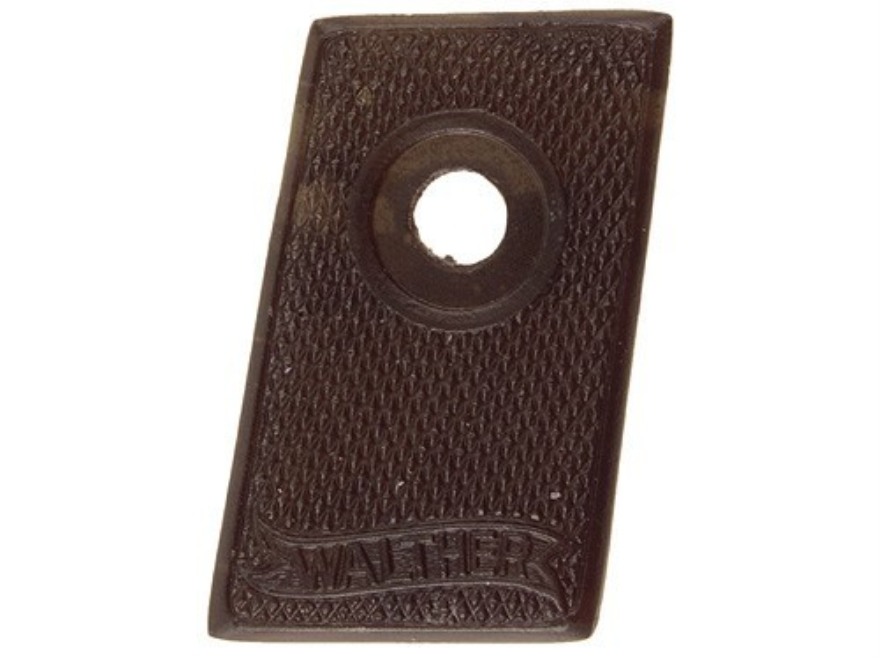 Vintage Gun Grips Walther #9 25 ACP Polymer Black