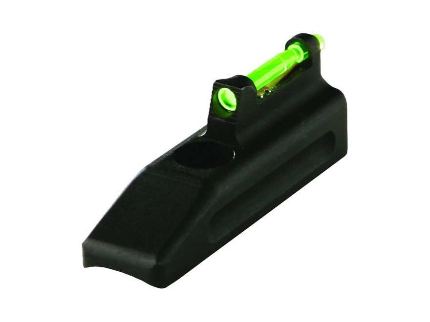 HIVIZ Front Sight Browning Buck Mark, Ruger Mark II, Mark III, 22/45 Steel Fiber Optic with 6 Interchangeable Lite Pipes
