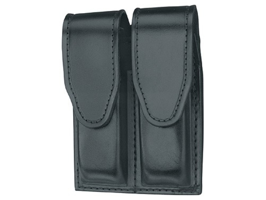 Gould & Goodrich B629 Double Magazine Pouch Glock 20, 21, 29, 30, 37, Para-Ordnance P10, P12, P13, P14, P15, P16, Springfield XD 45 Leather Black