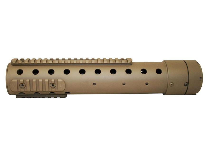 PRI Gen III Free Float Tube Handguard Quad Rail AR-10 Carbon Fiber