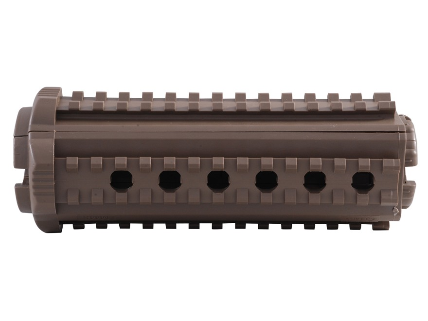 Mission First Tactical M44S 2-Piece Quad Rail Handguard AR-15 Carbine Length Polymer