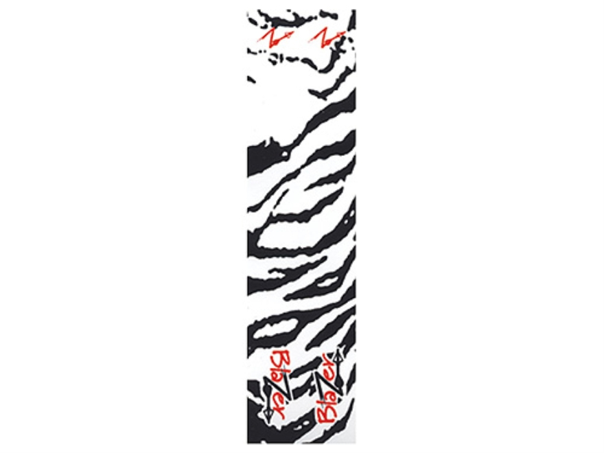 Bohning Tiger Blazer Wrap Carbon Arrow Wrap White Pack of 12