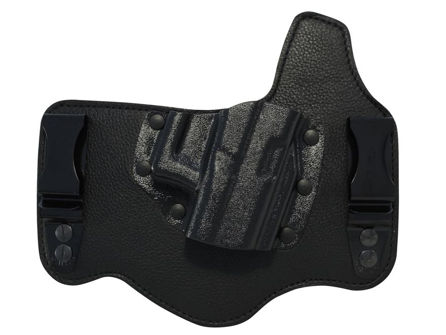 Galco King Tuk Tuckable Inside the Waistband Holster 1911 Government, Commander Leather and Kydex Black