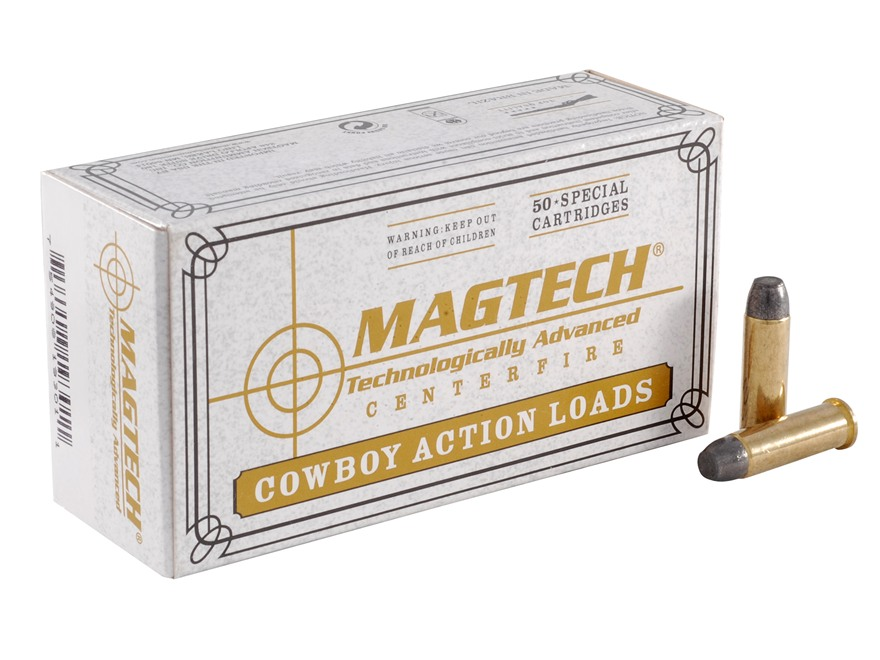 Magtech Cowboy Action Ammunition 38 Special 125 Grain Lead Flat Nose Box of 50