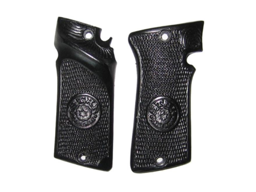 Vintage Gun Grips Star Olympic Polymer Black