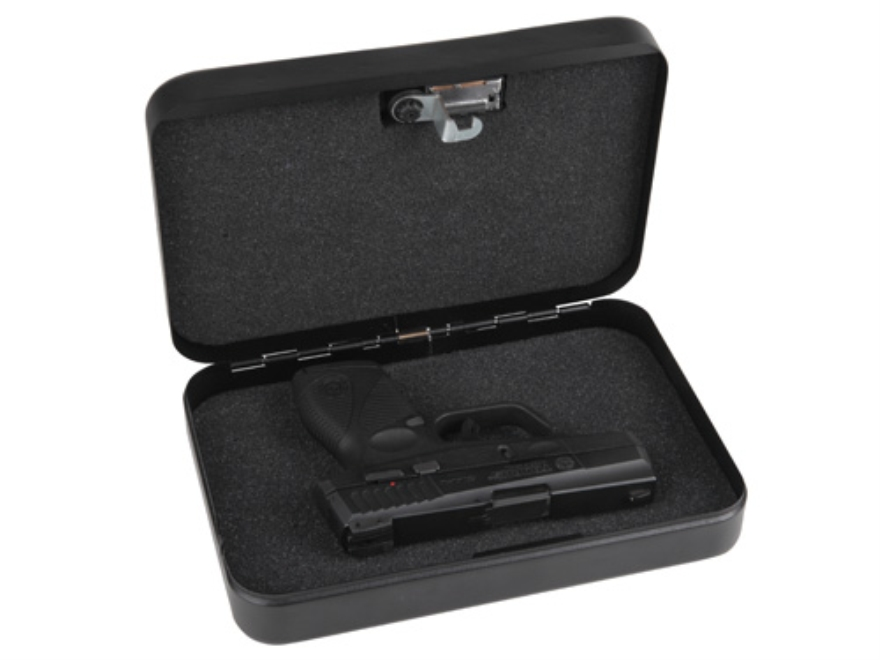 "Bulldog Personal Safe Combination Lock Security Box 9.5"" x 6.5"" x 2"" Steel Black"