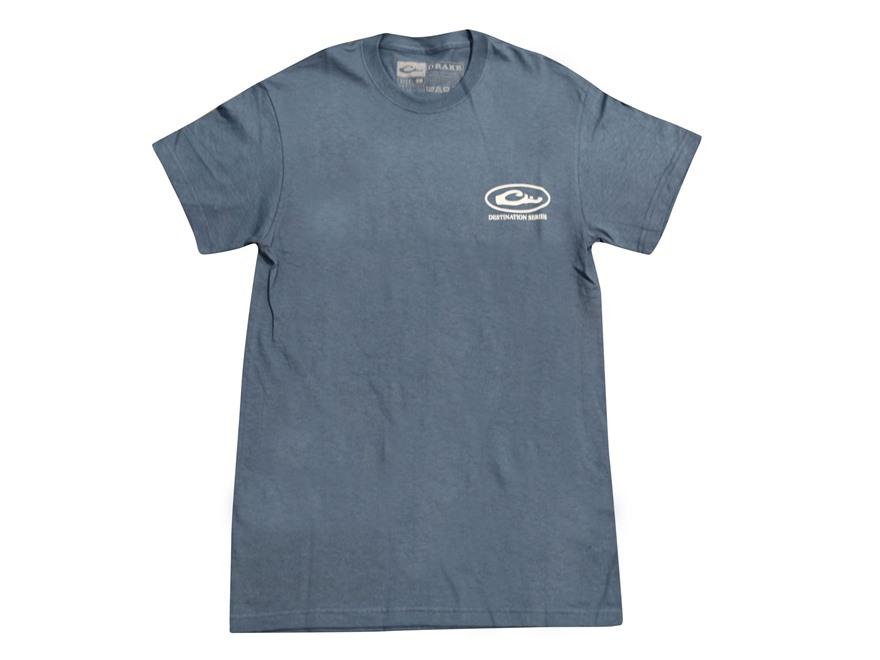 Drake Men's Destination Gueydan Louisiana T-Shirt Short Sleeve Cotton