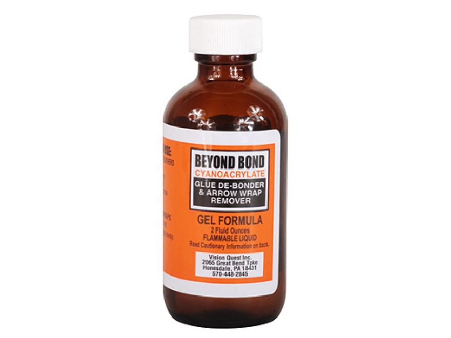 Steel Force Beyond Bond Gel Debonder Arrow Fletching and Insert Adhesive Debonder 2 oz Bottle