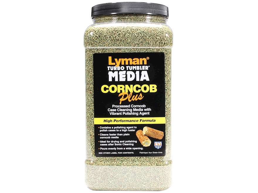 Lyman Turbo Brass Cleaning Media Treated Corn Cob