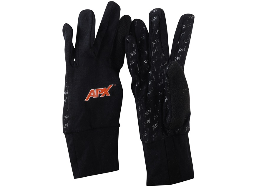 APX Merino Contoured Gloves Wool Black XL/2XL