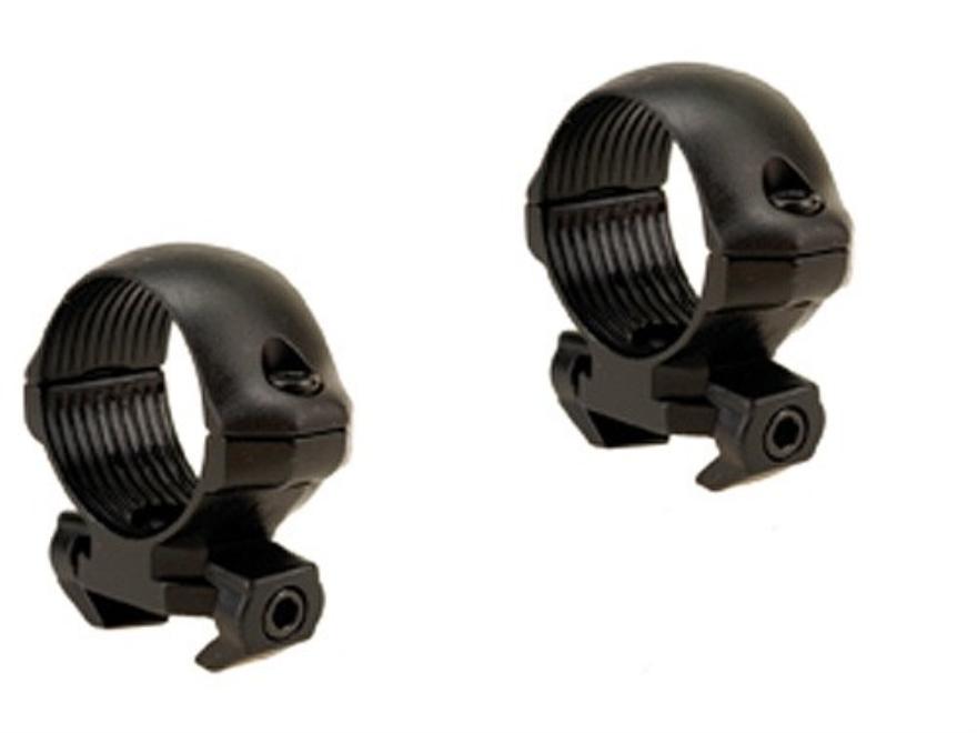 "Millett 1"" Angle-Loc Windage Adjustable Weaver-Style Rings Matte Low"