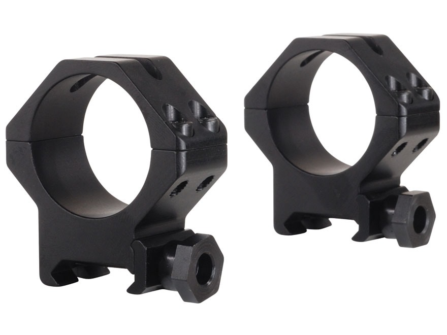 Weaver Tactical 4-Hole Skeleton Weaver-Style Rings Matte