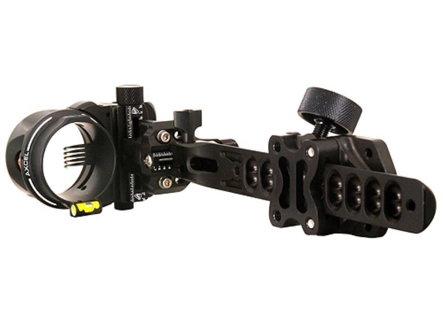 "T.R.U. Ball Axcel ArmourTech Pro 5-Pin Bow Sight .019"" Pin Diameter Aluminum Black"