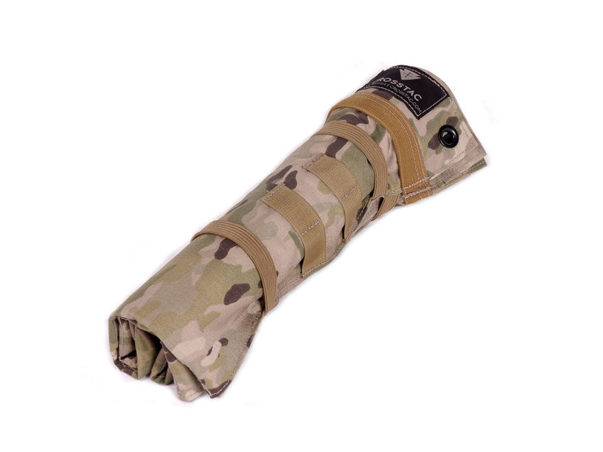 CrossTac RECON Shooting Mat Cordura Multicam Camo and A-TACS-AU