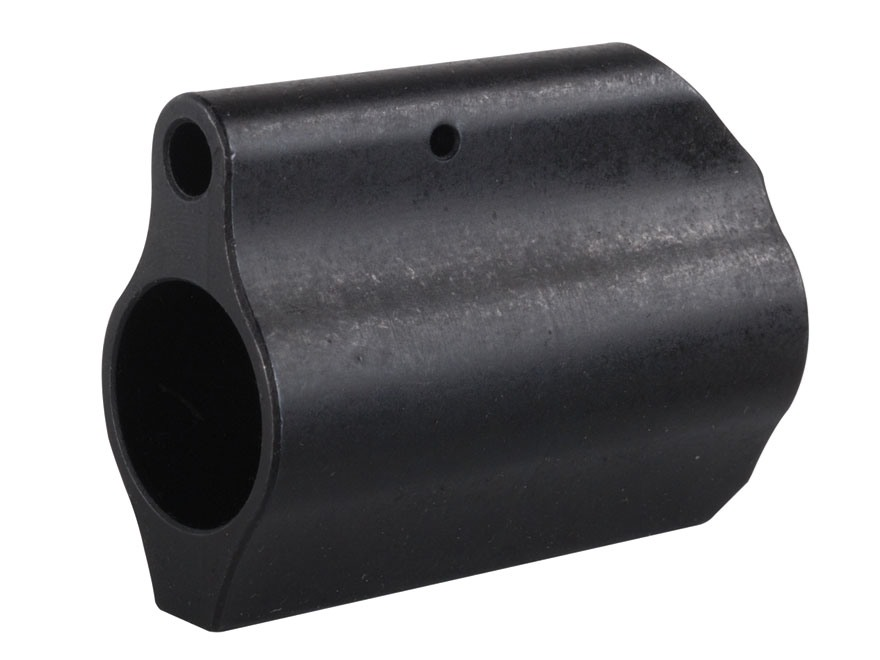 "Midwest Industries Low Profile Gas Block AR-15, LR-308 Lightweight Barrel .625"" Inside Diameter Matte"