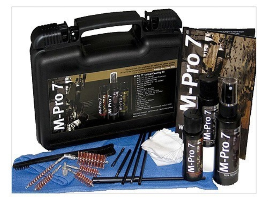 M-Pro 7 Tactical Cleaning Kit 22 Caliber to 12 Gauge