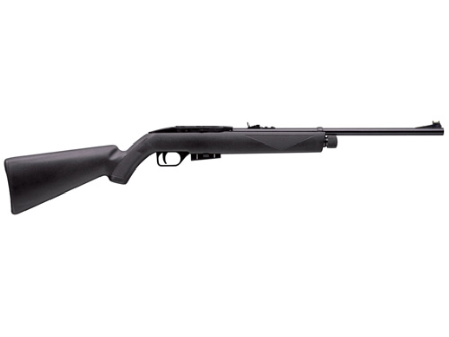 Crosman 1077 Repeat Air 177 Caliber Pellet Air Rifle Polymer Stock Black Blue Barrel