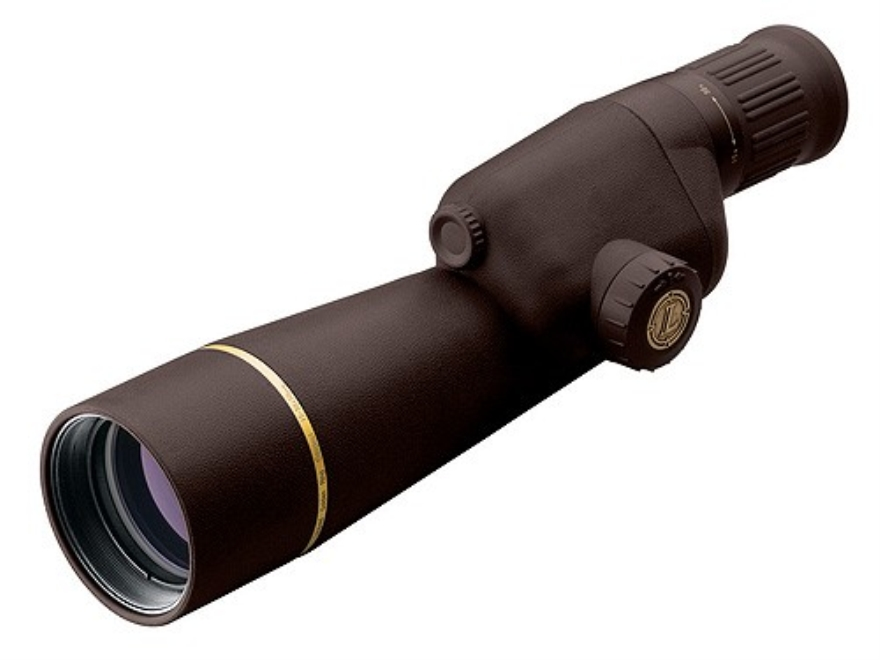 Leupold Golden Ring Compact Spotting Scope 15-30x 50mm Armored Brown with Tripod and Al...