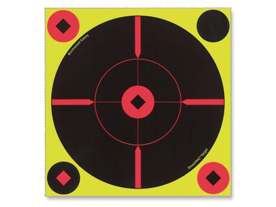 "Birchwood Casey Shoot-N-C 8"" BMW Bullseye Targets Package 6"