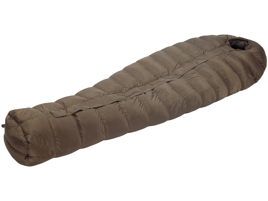 Eberlestock Euro Down -20 Degree Sleeping Bag Polyester Dark Earth