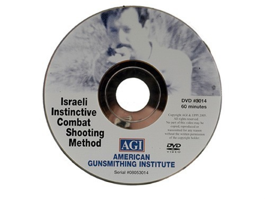 "American Gunsmithing Institute (AGI) Video ""Israeli Instinctive Combat Shooting"" DVD"