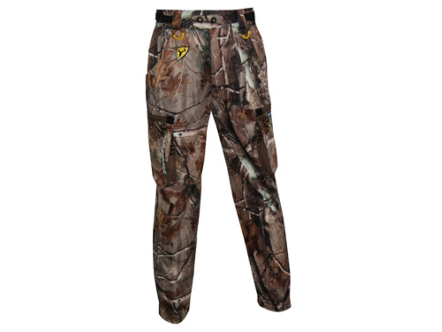 "ScentBlocker Men's Bone Collector Super Freak Pants Polyester Realtree AP Camo 2XL 44-46 Waist 32"" Inseam"