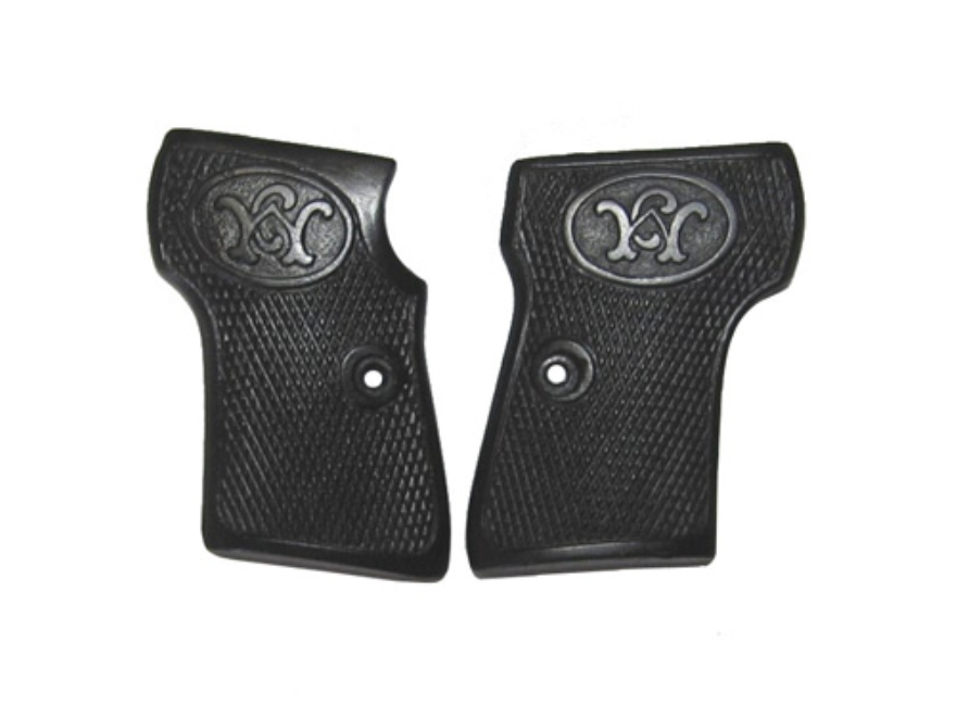 Vintage Gun Grips Walther #2 25 ACP Polymer Black