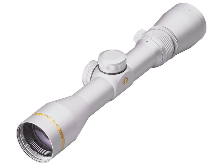 Leupold VX-3 Pistol Scope 2.5-8x 32mm Duplex Reticle Silver