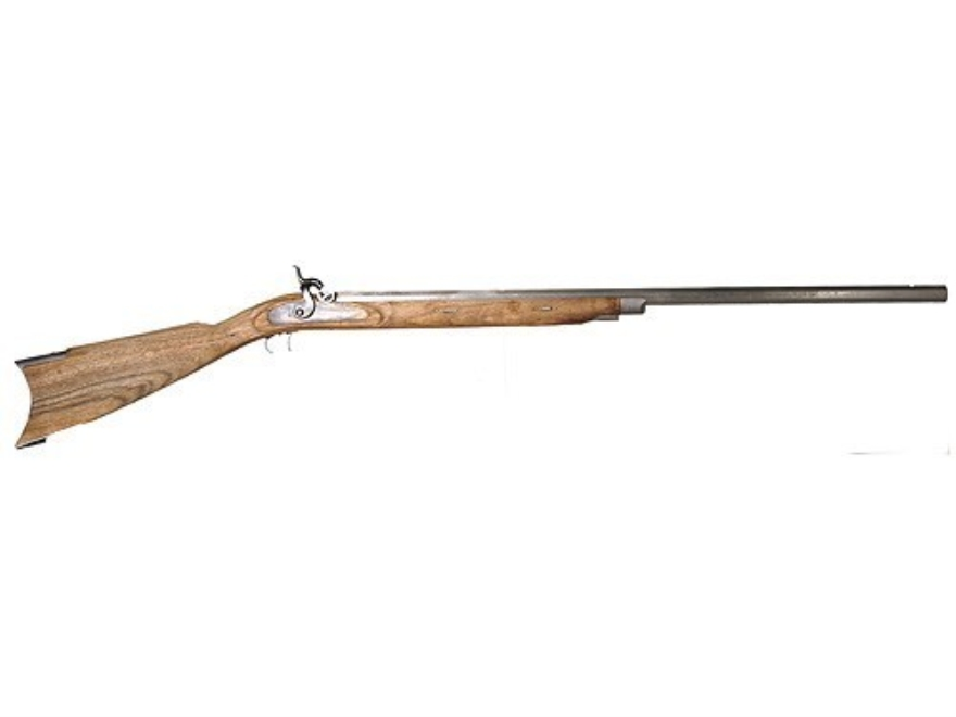 "Lyman Great Plains Muzzleloading Rifle Unassembled Kit Percussion 1 in 60"" Twist 32"" Barrel in The White"