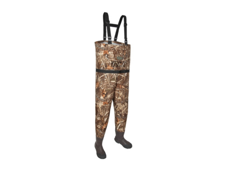 Allen Blue Bill 600 Gram Breathable Nylon Chest Waders Realtree Max-4 Camo Mens 9