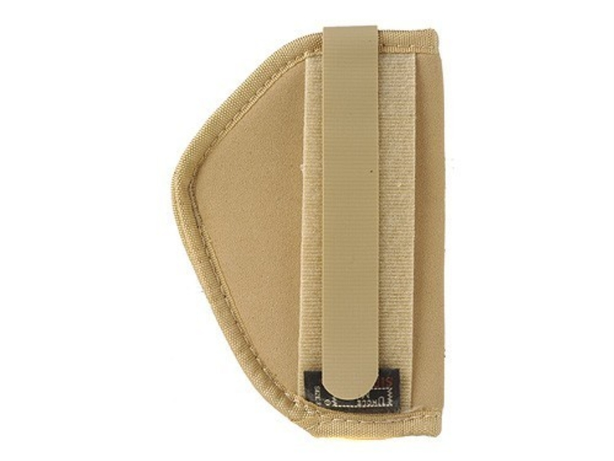 "Uncle Mike's Belly Band/Body Armor Holster Ambidextrous Small Revolver, Semi-Automatic 2"" Barrel 4-Layer Laminate Tan"