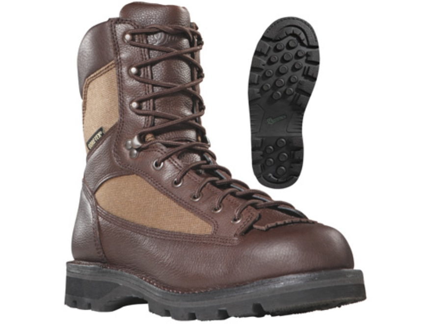 "Danner Elk Ridge GTX 8"" Waterproof Uninsulated Hunting Boots Leather and Nylon Brown Men's 10-1/2 EE"