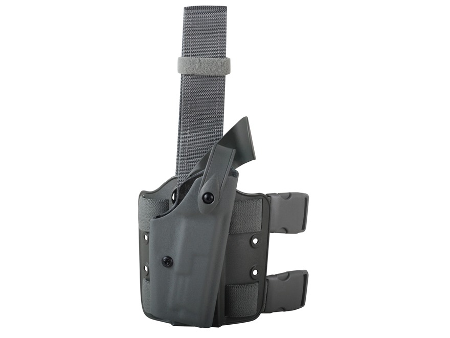 Safariland 6004 SLS Tactical Drop Leg Holster Right Hand S&W M&P 45 ACP Polymer