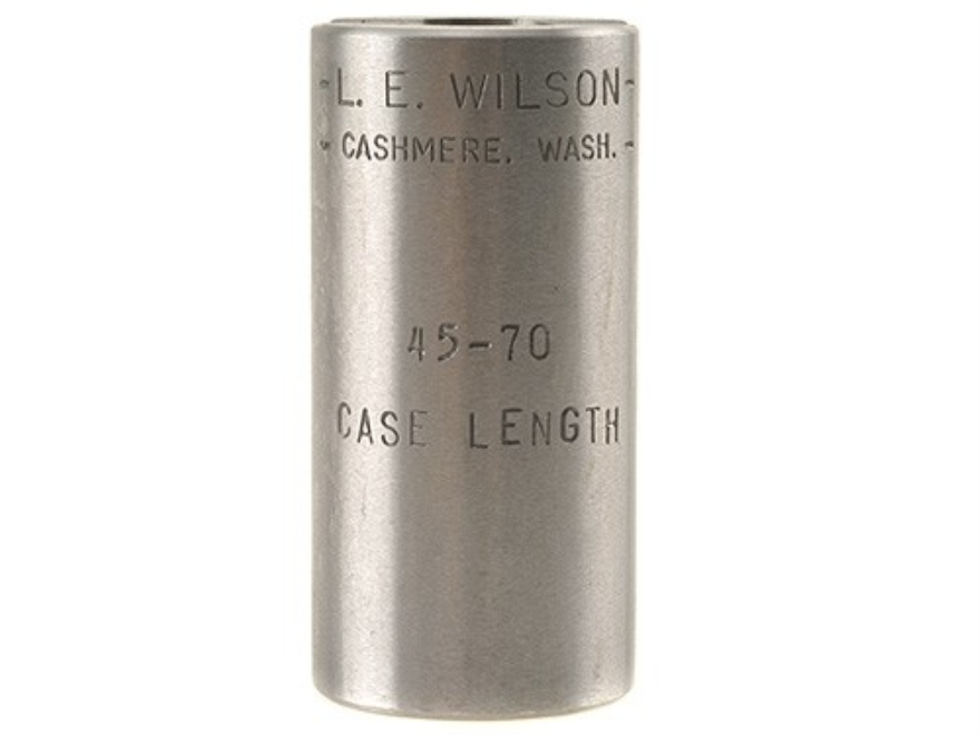 L.E. Wilson Case Length Gage 45-70 Government