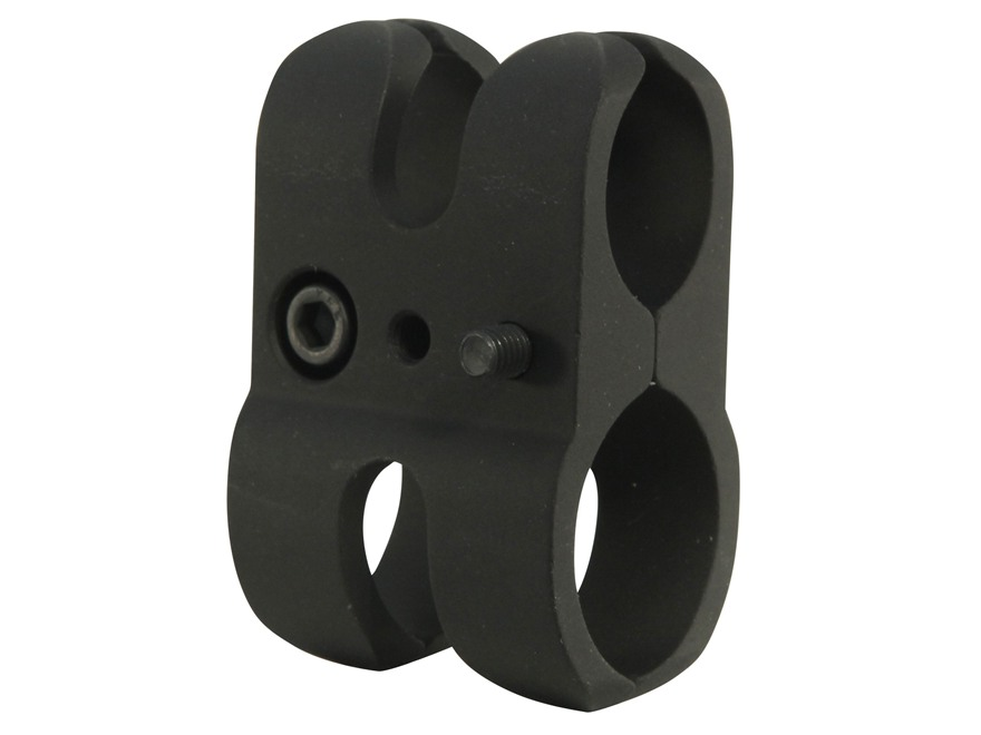 Nordic Components Shotgun Magazine Extension Tube Barrel Clamp for Mossberg Only 12 Gauge Aluminum Matte