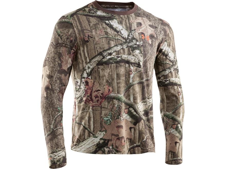 Under Armour Men's HeatGear Camo Charged Cotton T-Shirt Long Sleeve