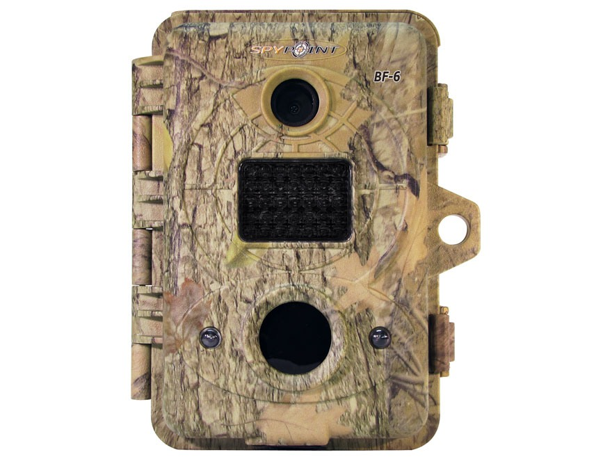 Spypoint BF-6 Black Flash Infrared Game Camera 6.0 Megapixel Spypoint Dark Forest Camo