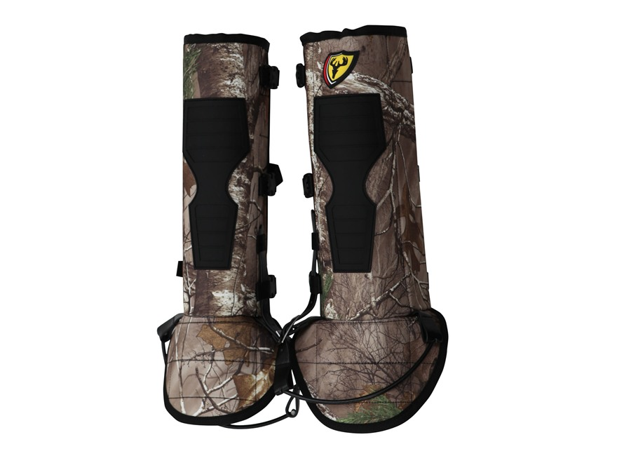 "ScentBlocker Diamondback 17"" Snake Gaiters Realtree Xtra"